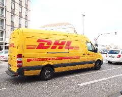 Sprinter von DHL Express