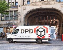 Foto von einem DPD-Lieferwagen