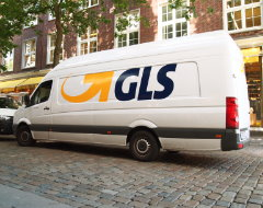 Foto vom Paketdienst GLS