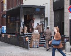 Citydepot von UPS in Hamburg