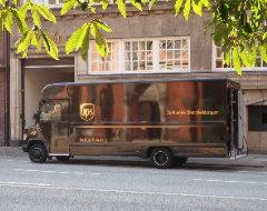 Elektroauto von UPS